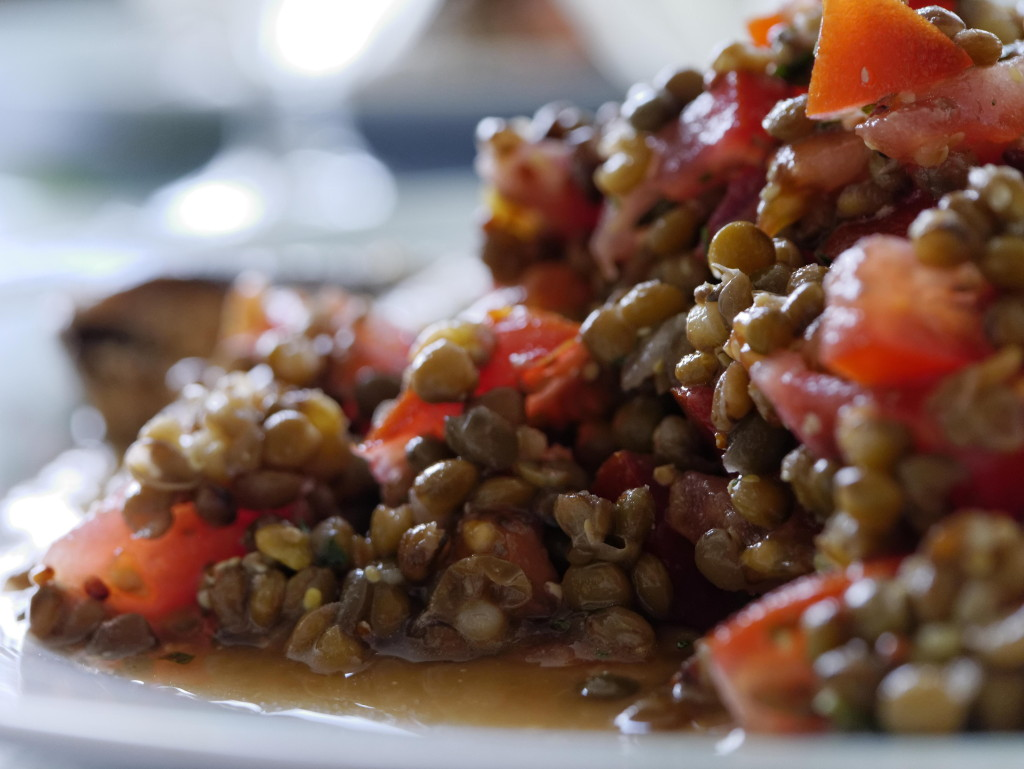lentils and barley dish