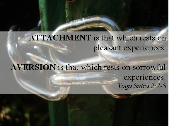 Attachment aversion sutra