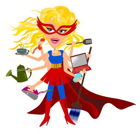 Super Mama Multitasker