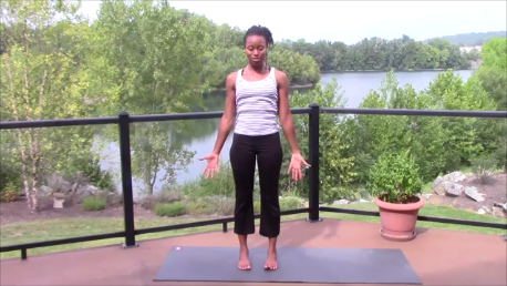 Find A Less Sassy & More Comfort In Mountain Pose