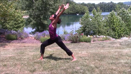 Yoga Tutorial Sun Salutation B