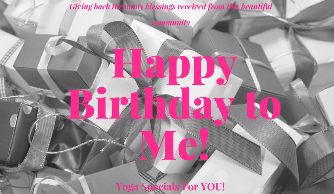 Help Me Celebrate My Birthday With Yoga Deals For YOU