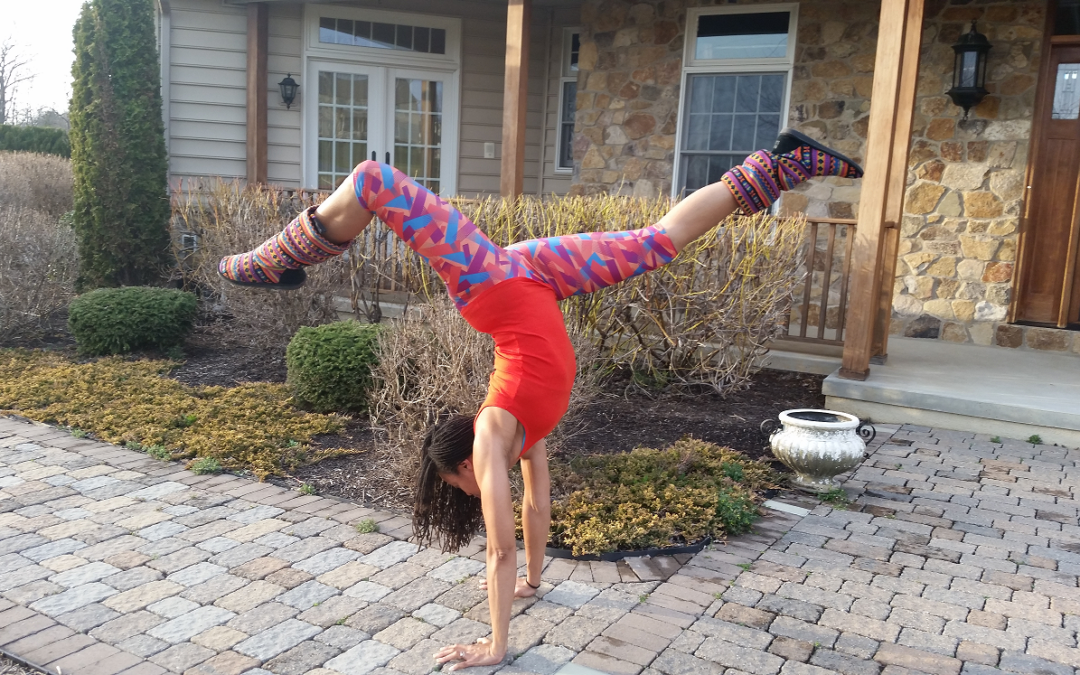 A Yoga Challenge Pose a Day Keeps The Mom Stress Away